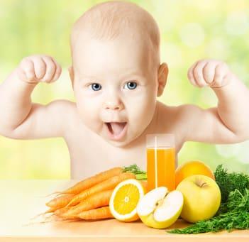 Ernährung Babys