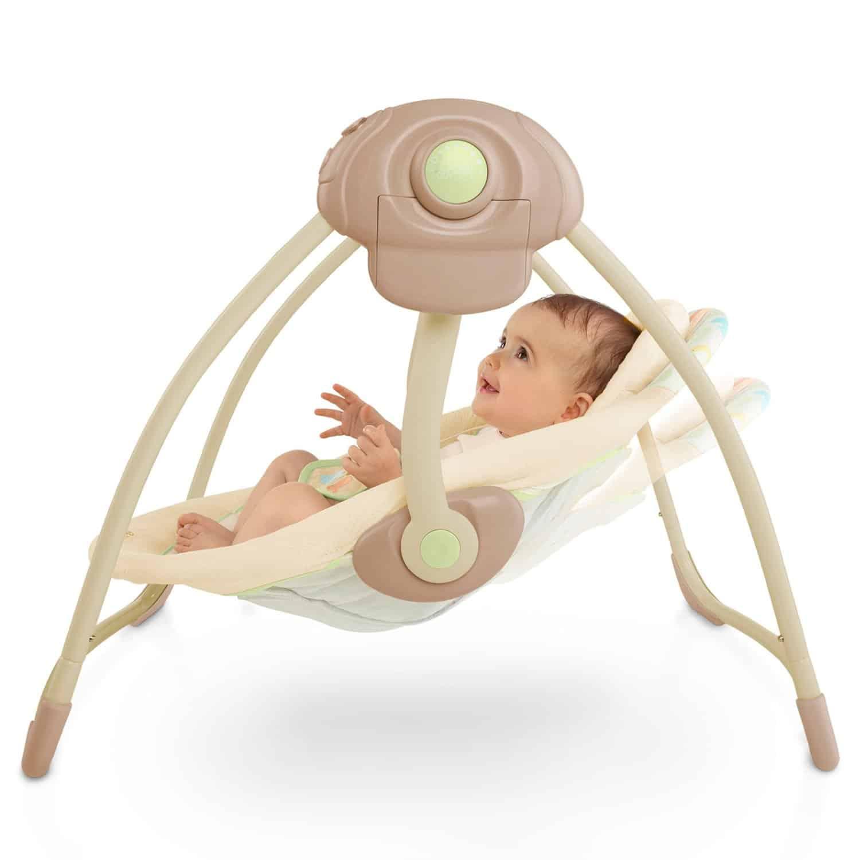 Bright Starts Elepaloo Babyschaukel Test